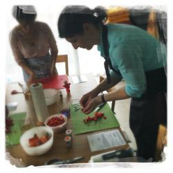 Cours Macarons salés '16 II