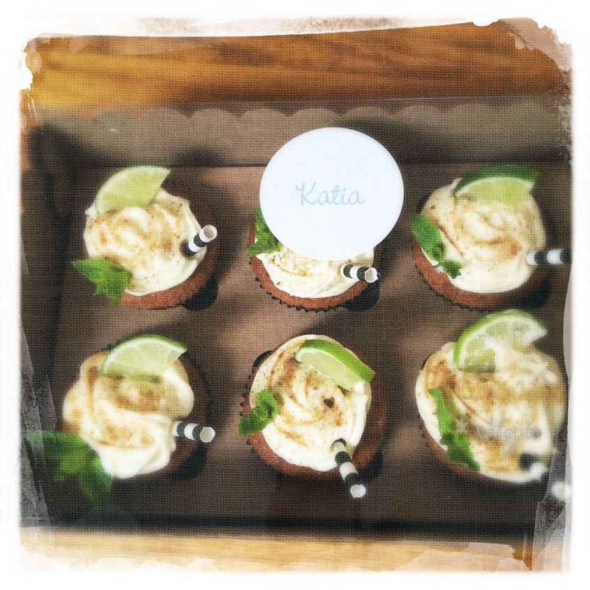 Cours Cupcakes Mojito XII