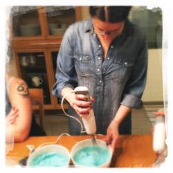 Cours privé Gâteau Stitch VII