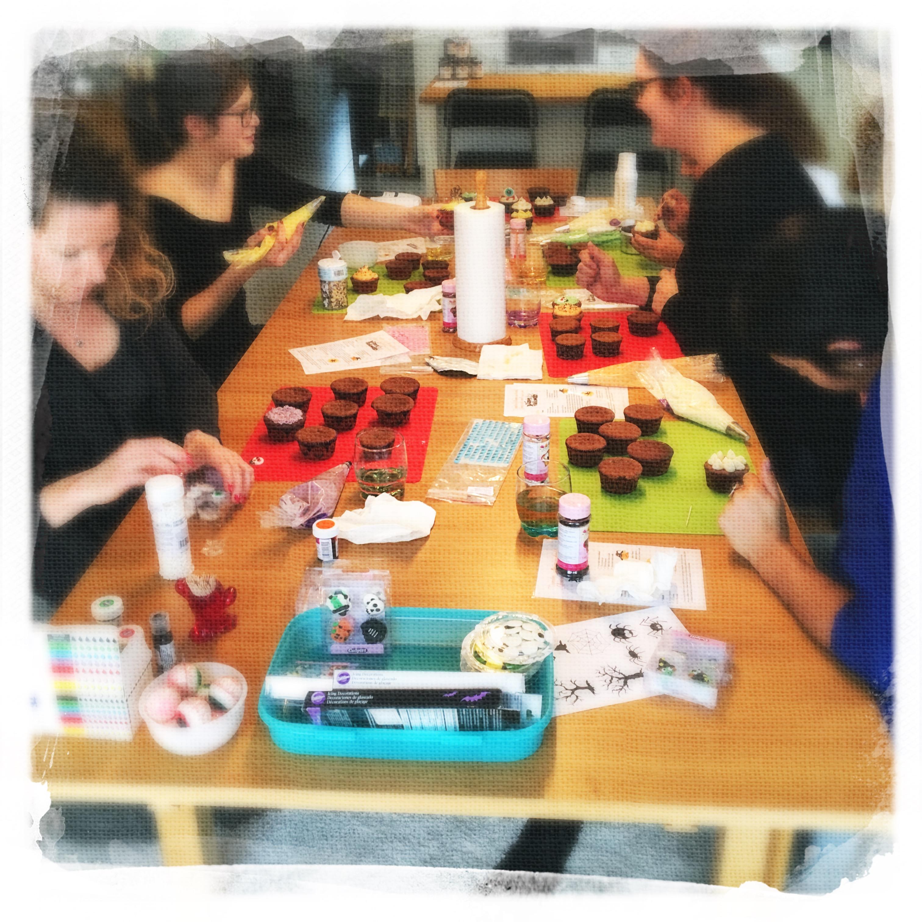 Cours Cupcakes de la Mort 2 XV