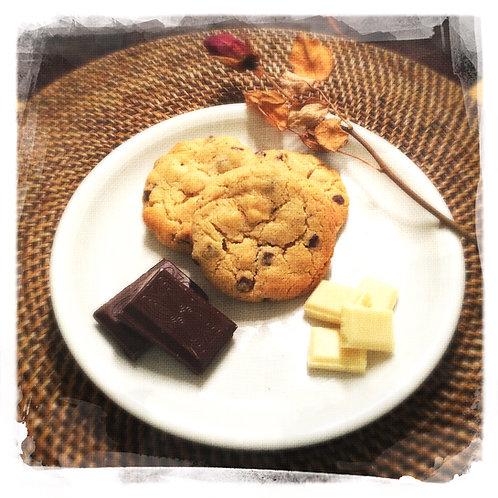 Pépites de chocolat/chocolat blanc