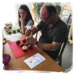 Cupcakes Potiron/Sirop d'érable XI