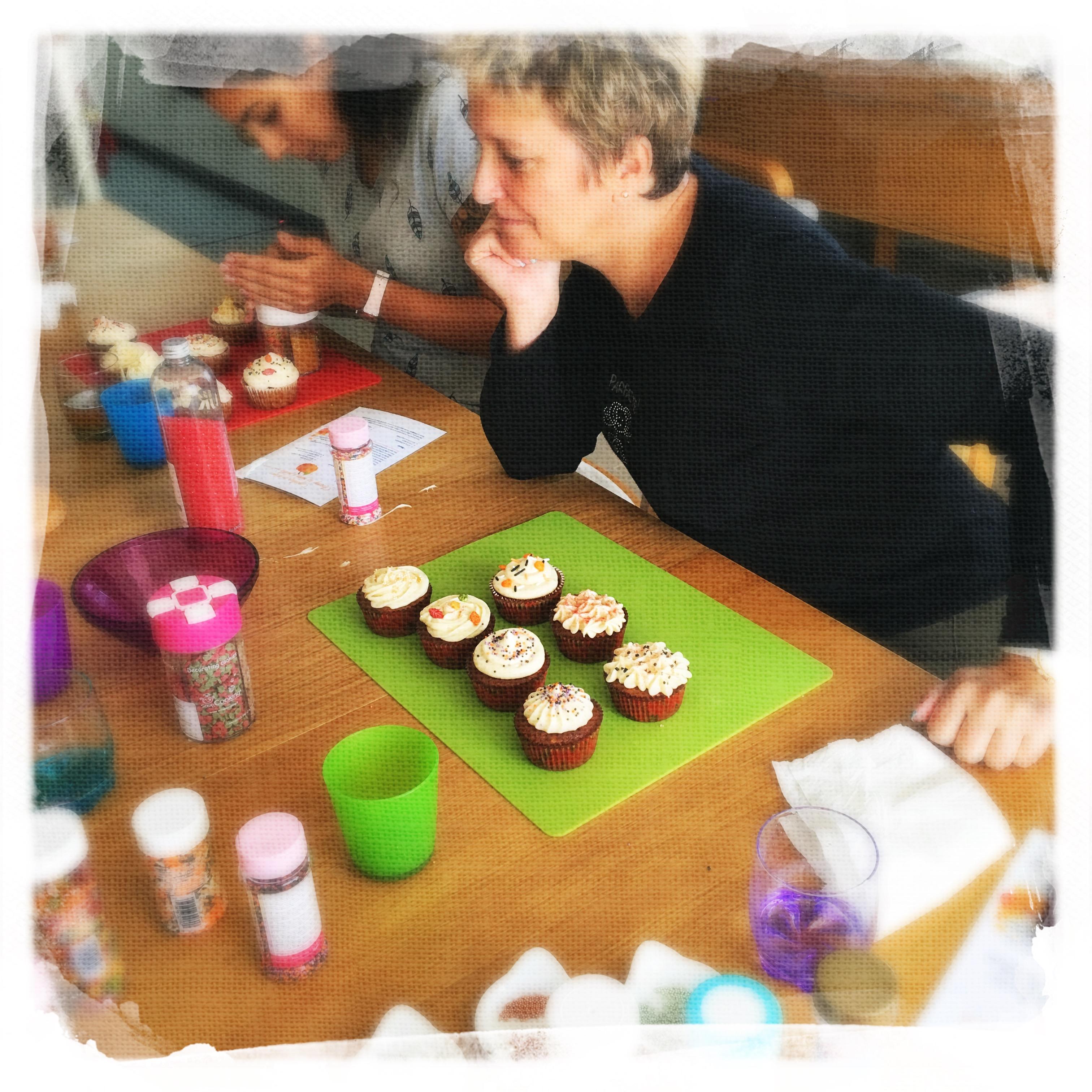 Cupcake Potiron/Sirop d'érable XVIII
