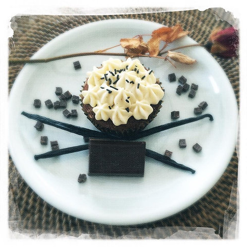 Chocolat/Ganache chocolat/Vanille