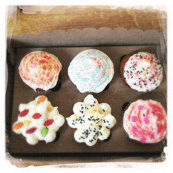 Cupcakes Potiron/Sirop d'érable XIX