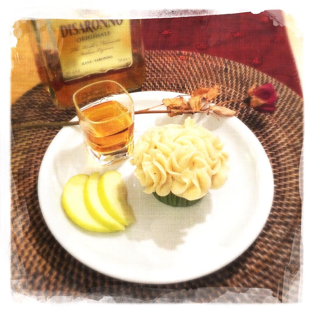 Cupcake Amaretto/Pomme