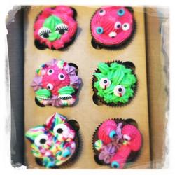 Cours privé Cupcakes Monstres X
