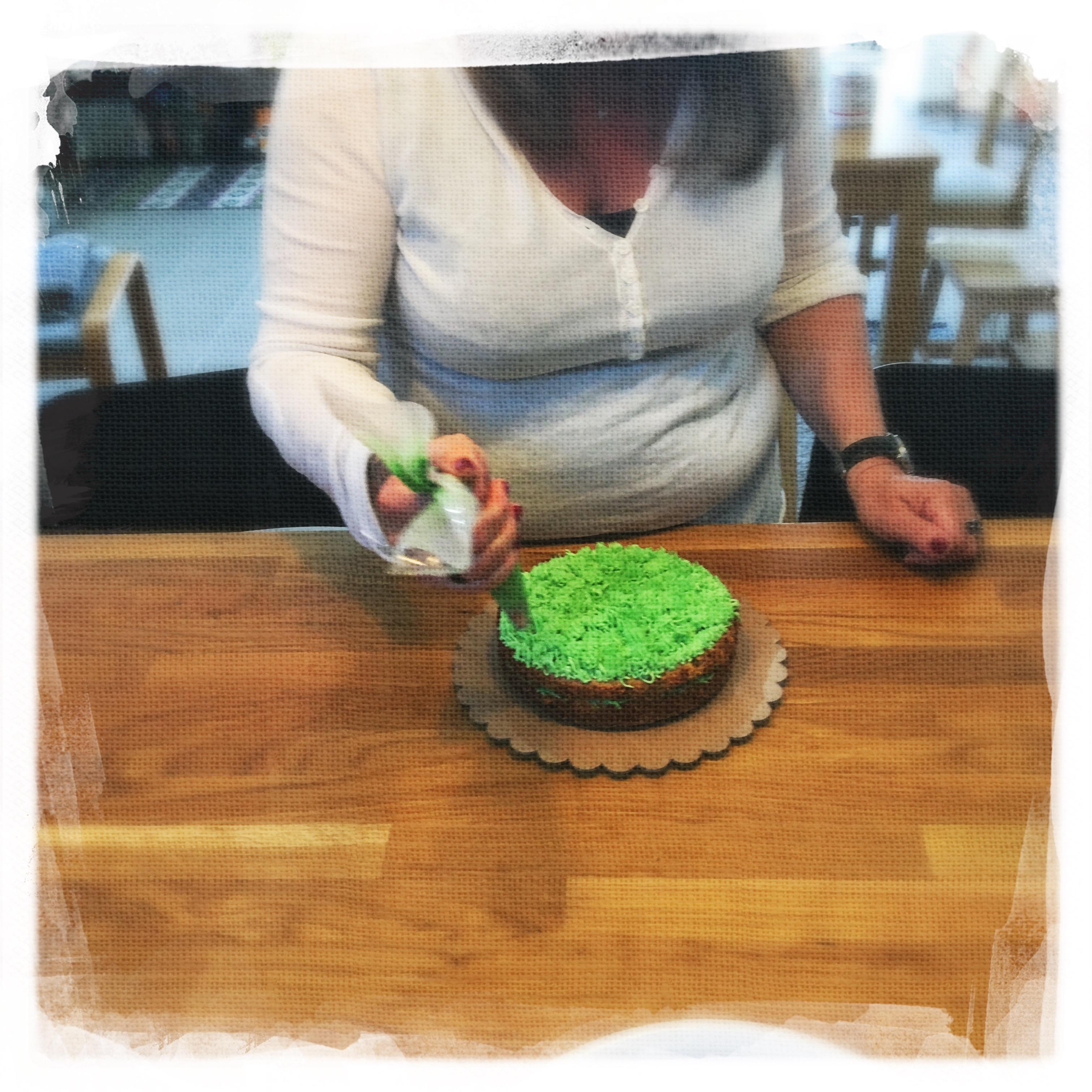 Cours Gâteau de Pâques IV