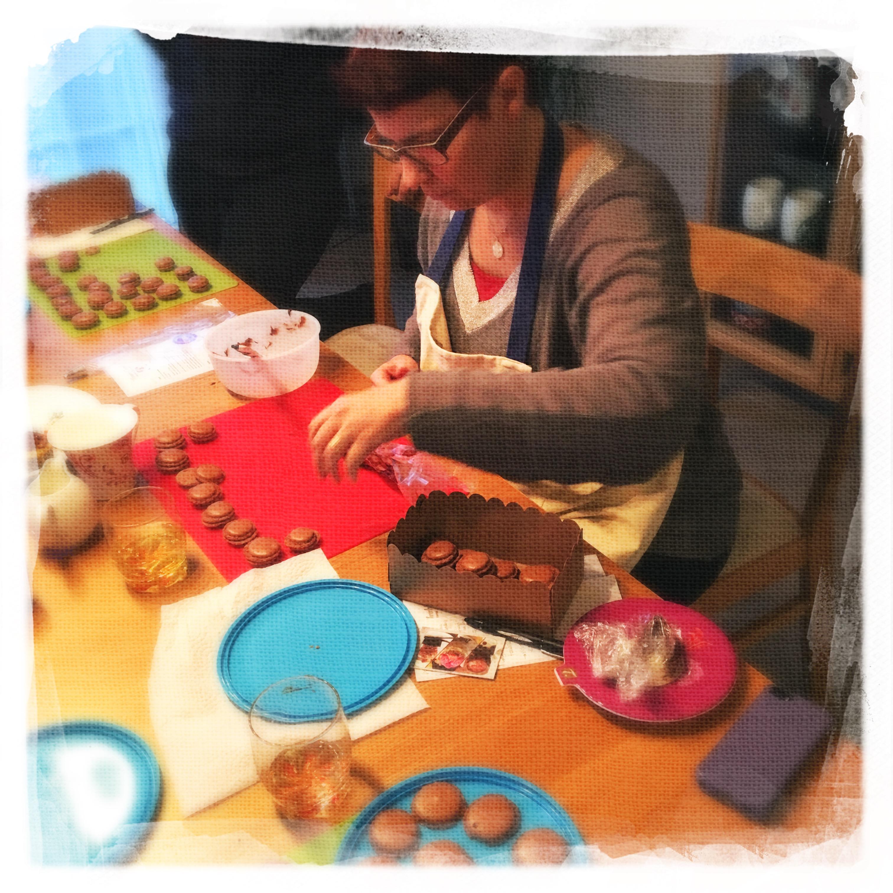 Cours Macarons Chocolat VII