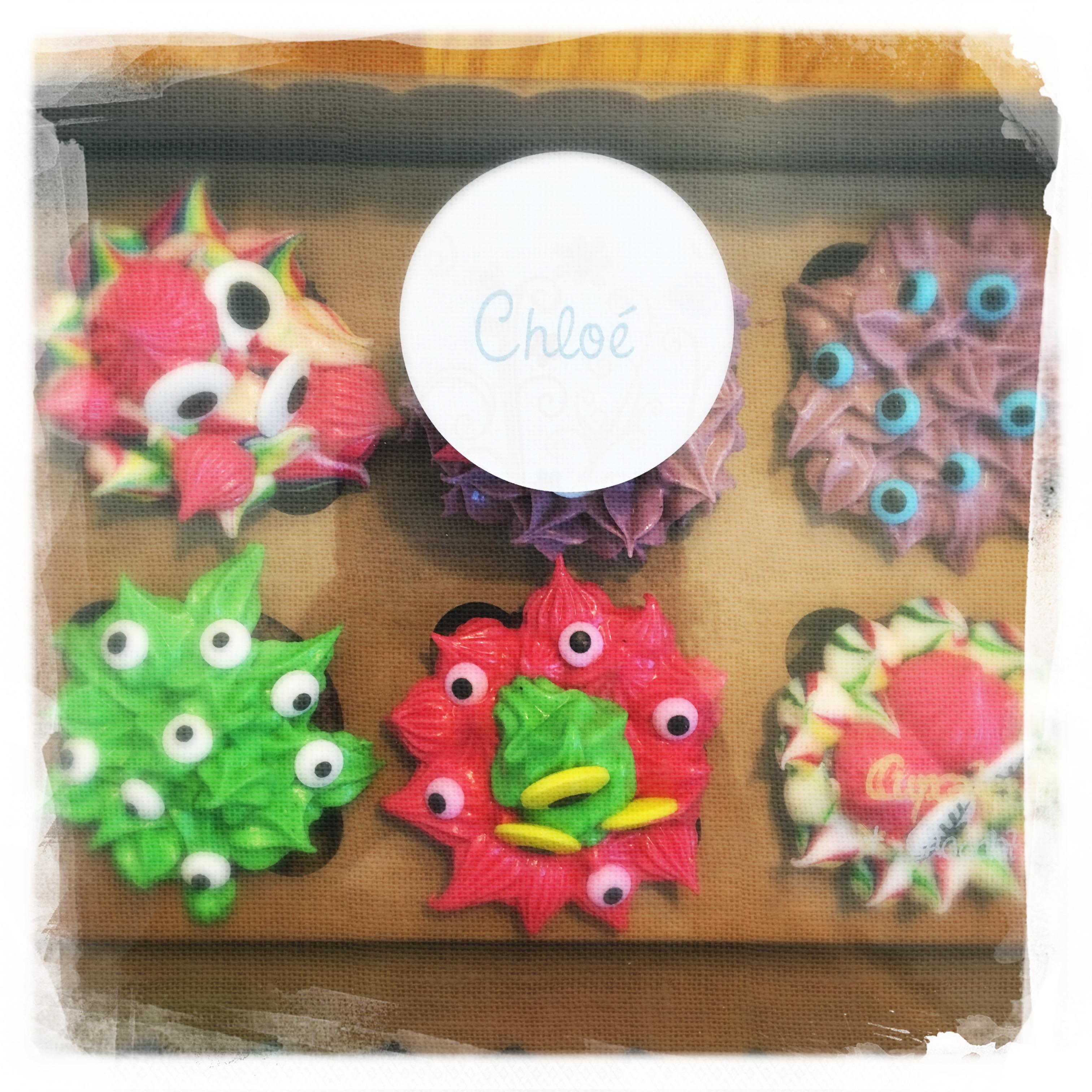 Cours privé Cupcakes Monstres IX