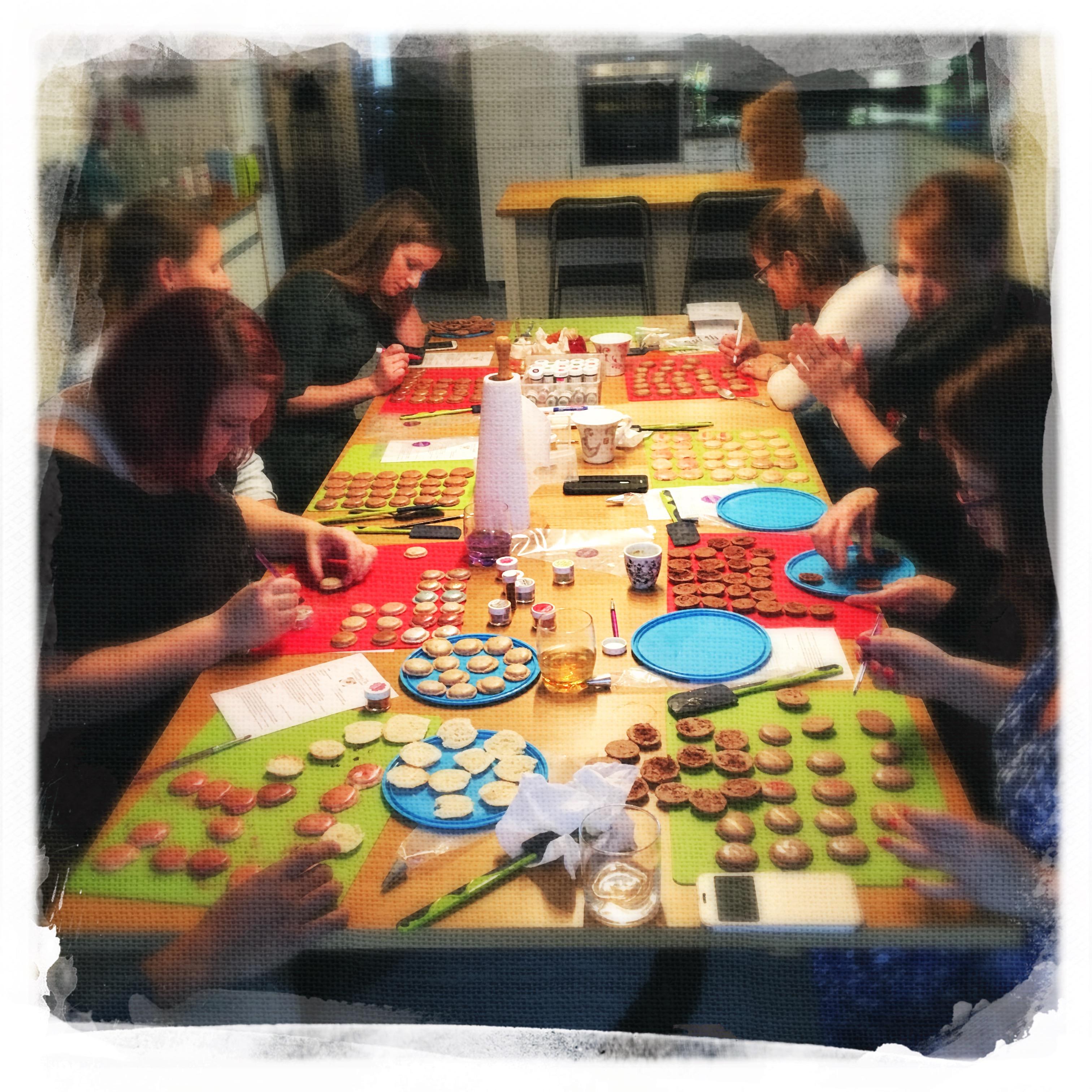 Cours Macarons Chocolat 2 XIII