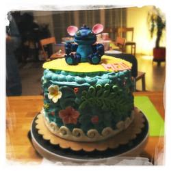 Cours privé Gâteau Stitch XVI