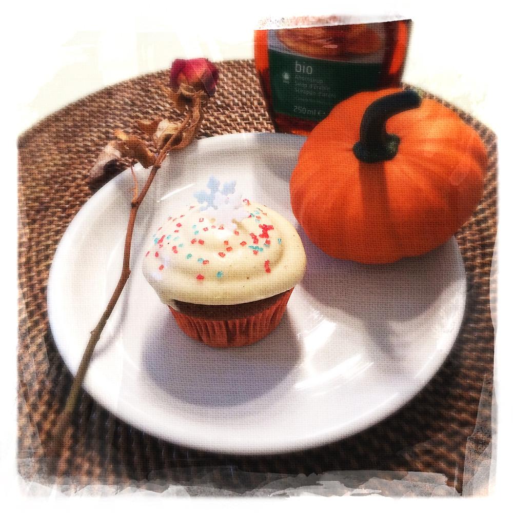 Cupcake Potiron/Sirop d'érable