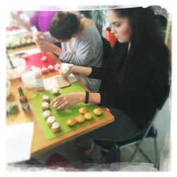 Cours Cupcakes salés '16 X