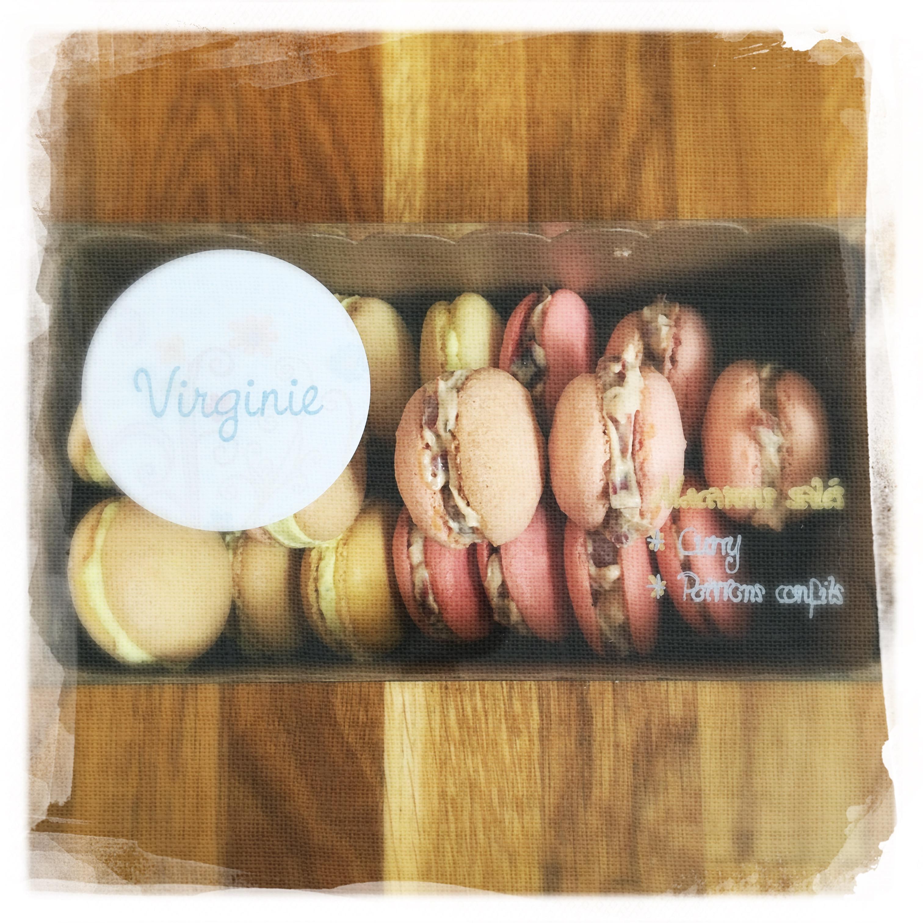 Cours Macarons salés '16 X