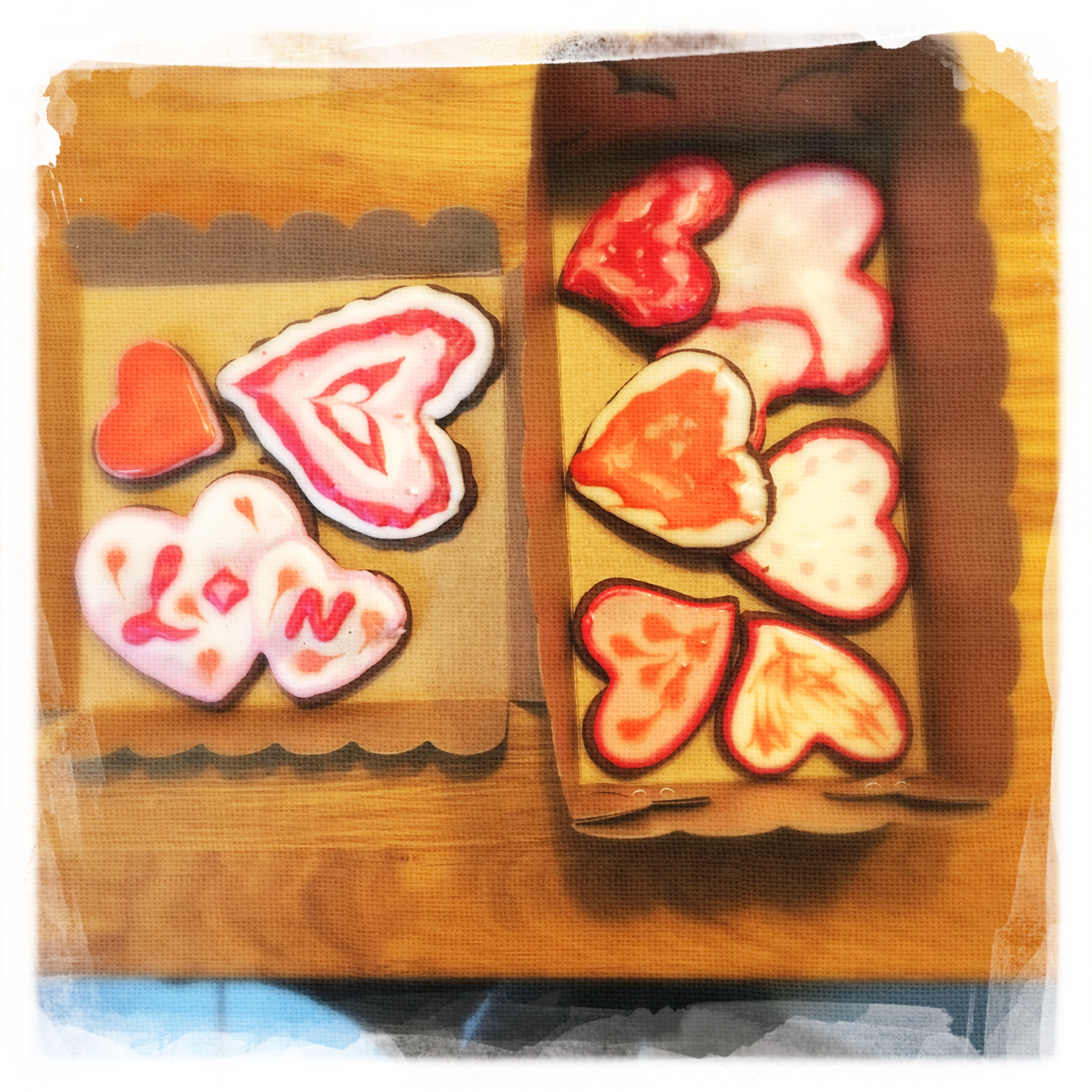 Cours Biscuits d'amour XXV