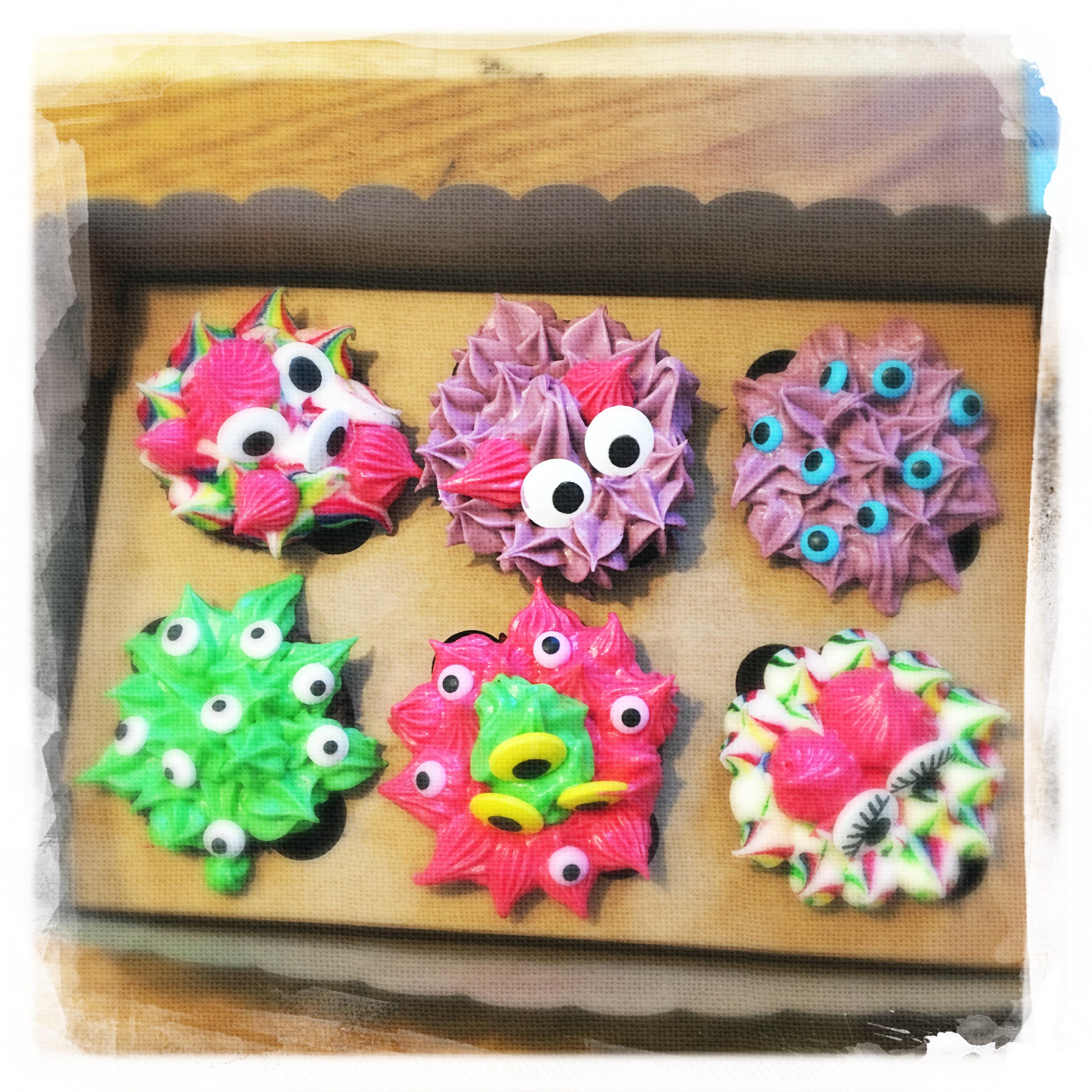 Cours privé Cupcakes Monstres VIII