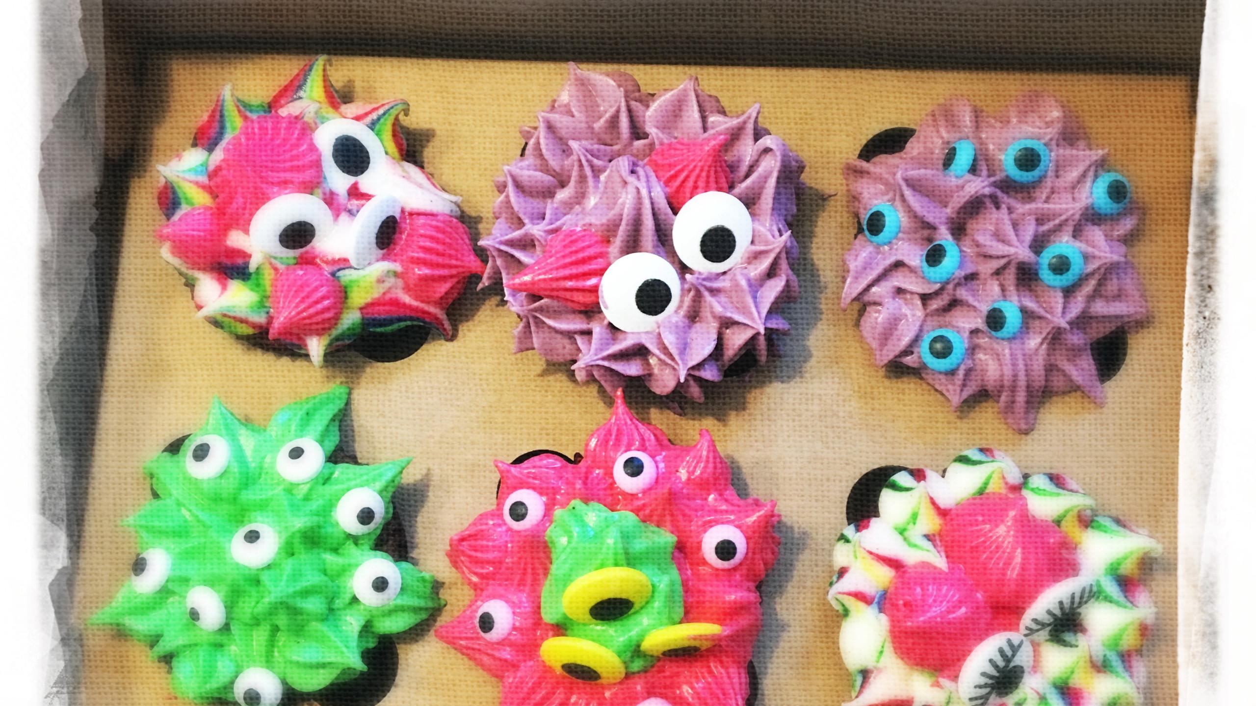 Cupcakes Monstres