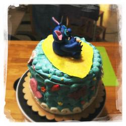 Cours privé Gâteau Stitch XVIII