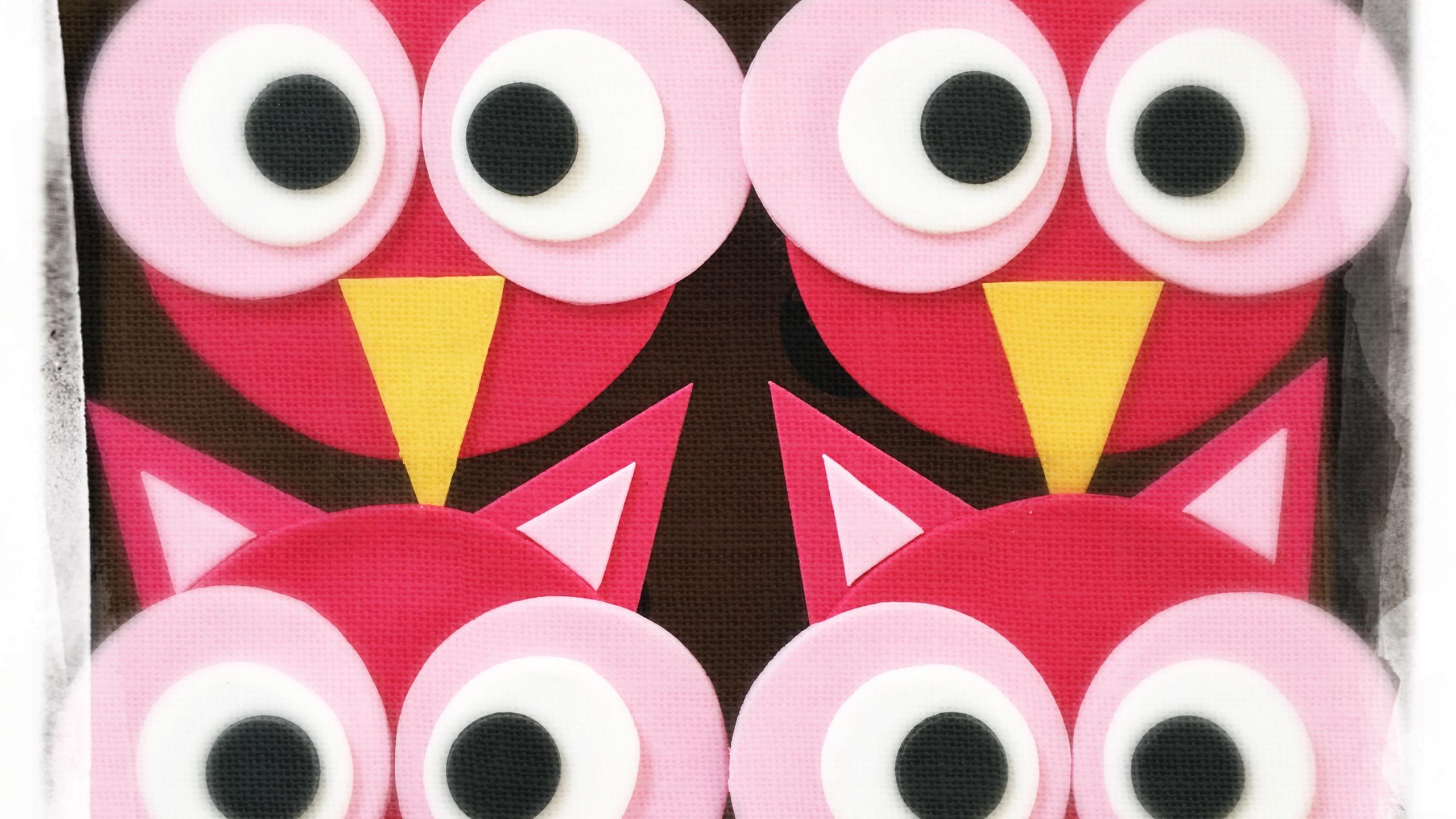 Cupcakes hiboux I