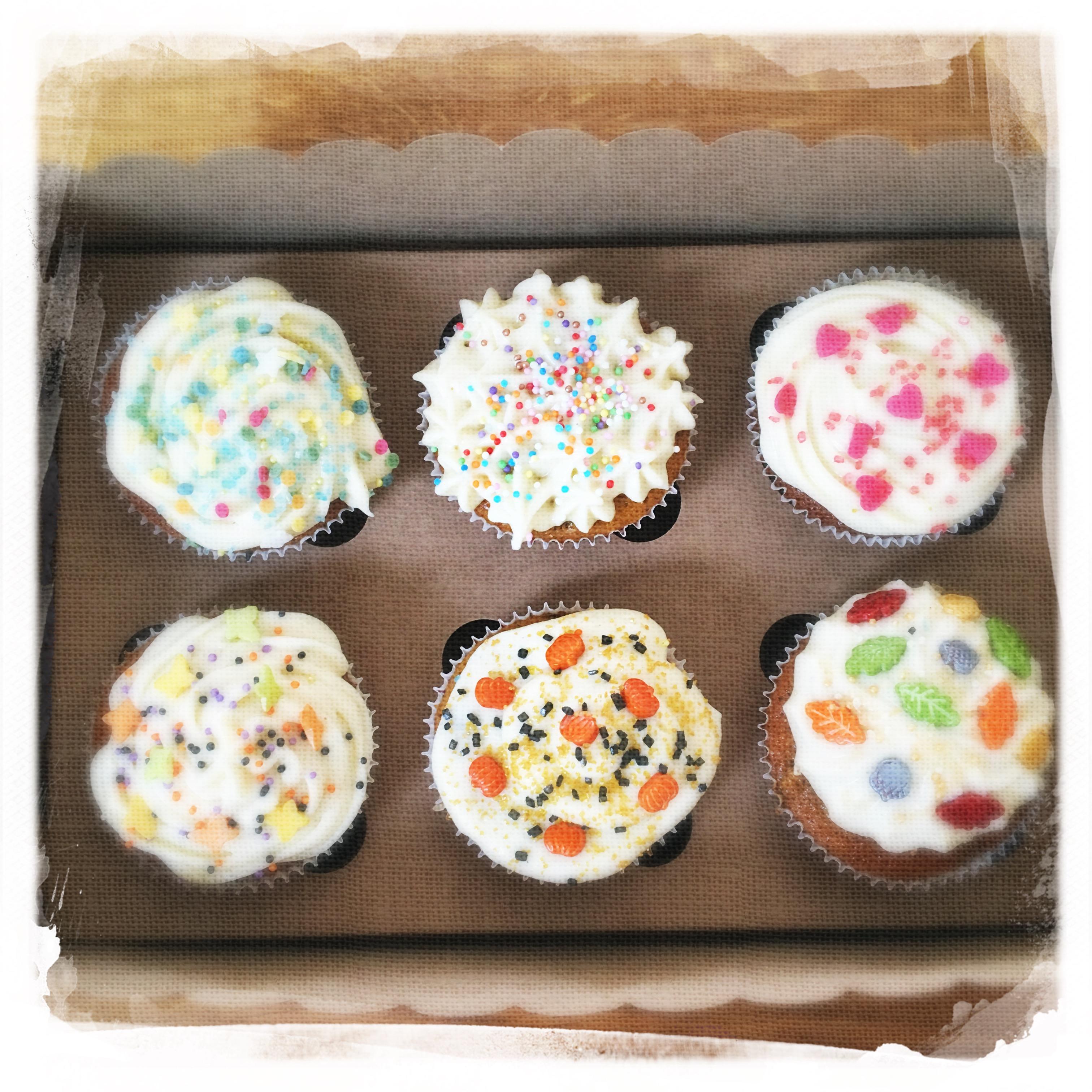 Cupcakes Potiron/Sirop d'érable XXI