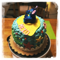 Cours privé Gâteau Stitch XIX