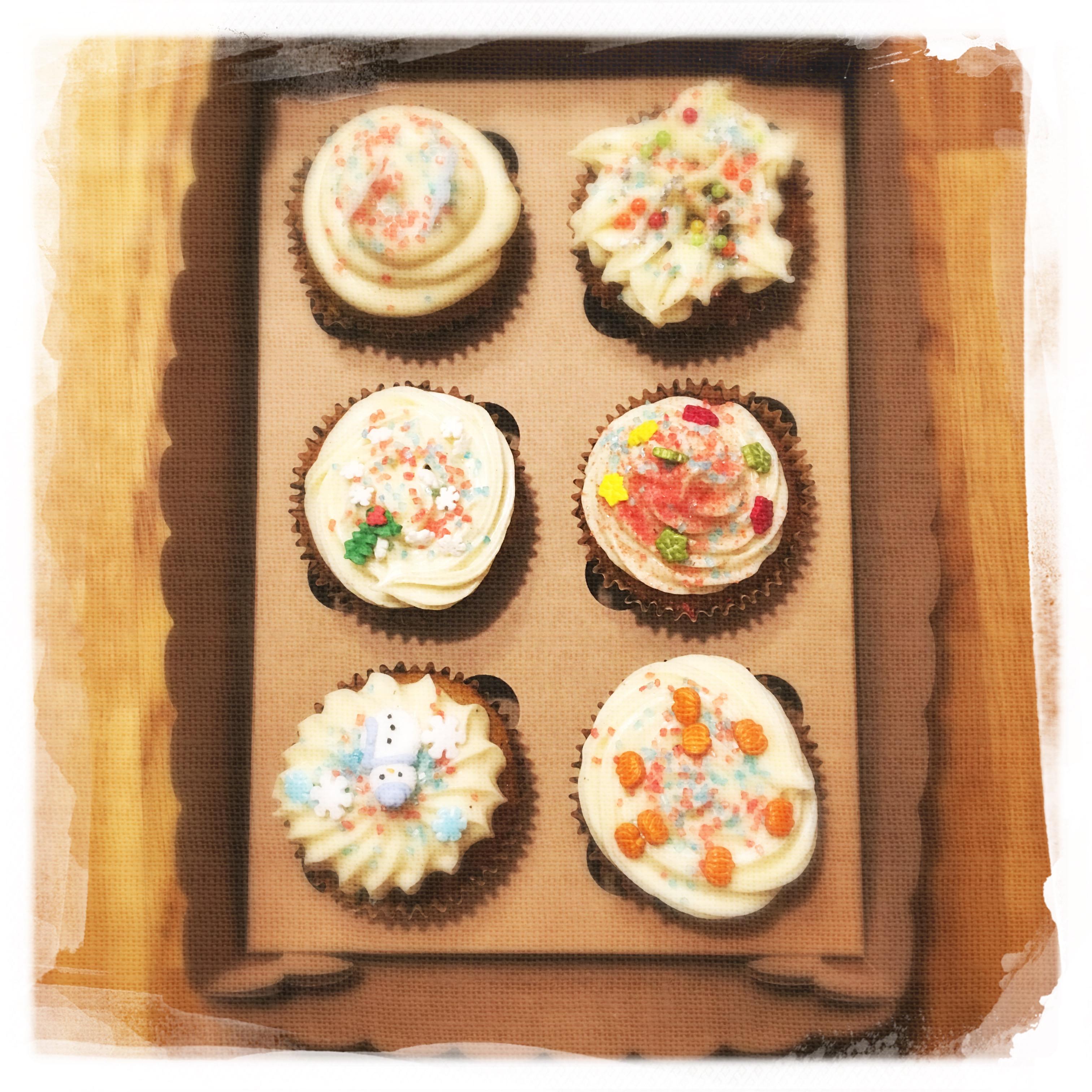 Cours Cupcakes Potiron/... XV