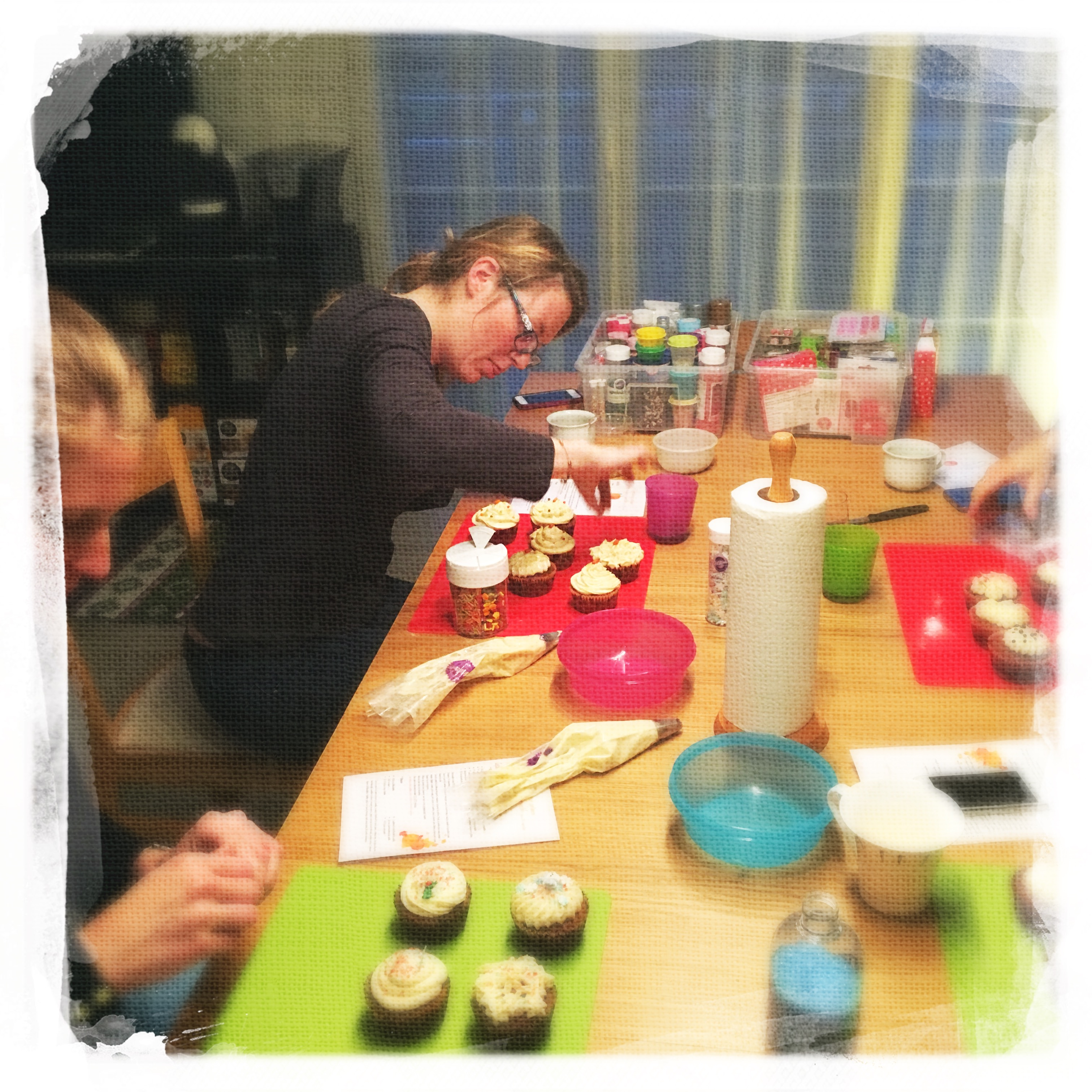 Cours Cupcakes Potiron/... VIII