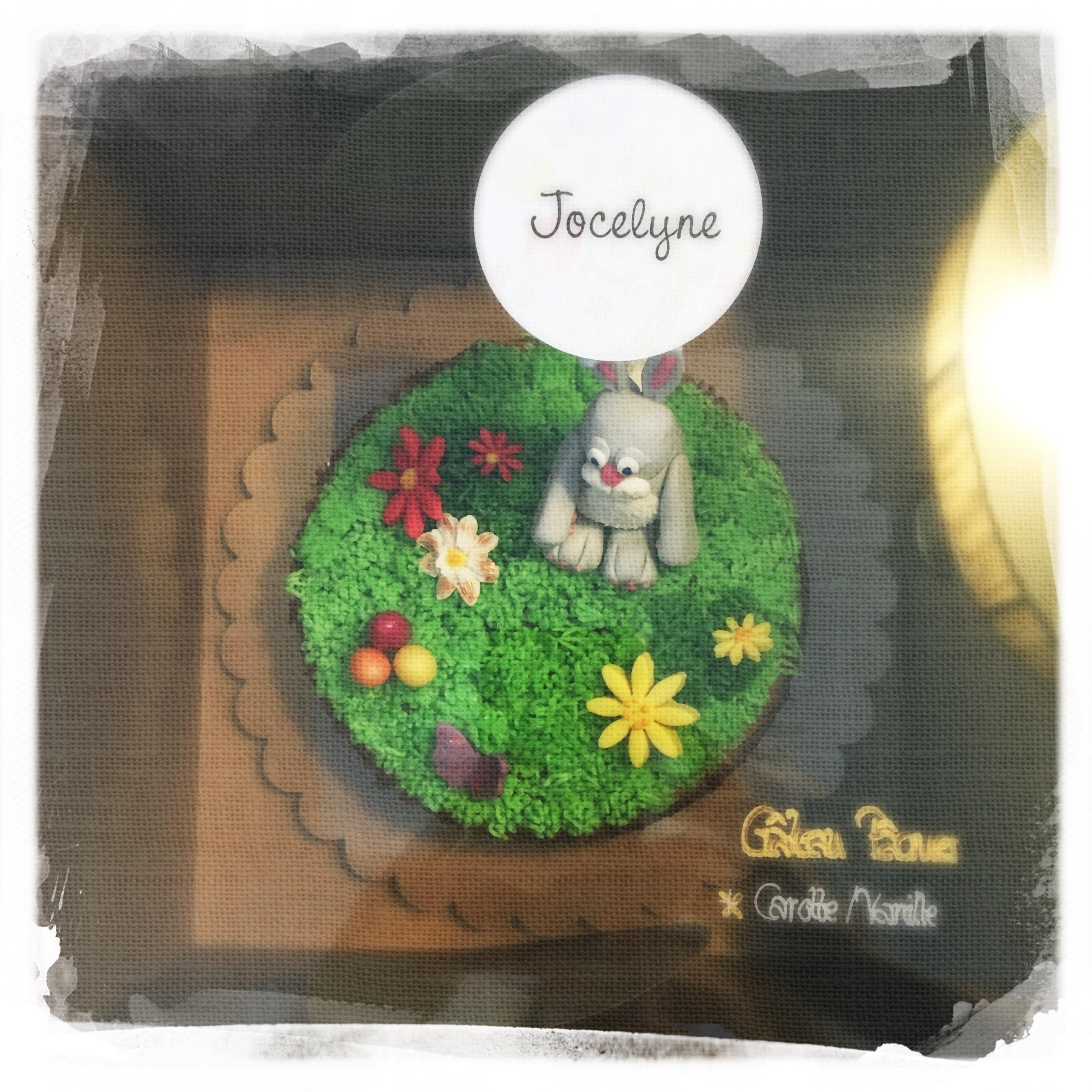 Cours Gâteau de Pâques IX