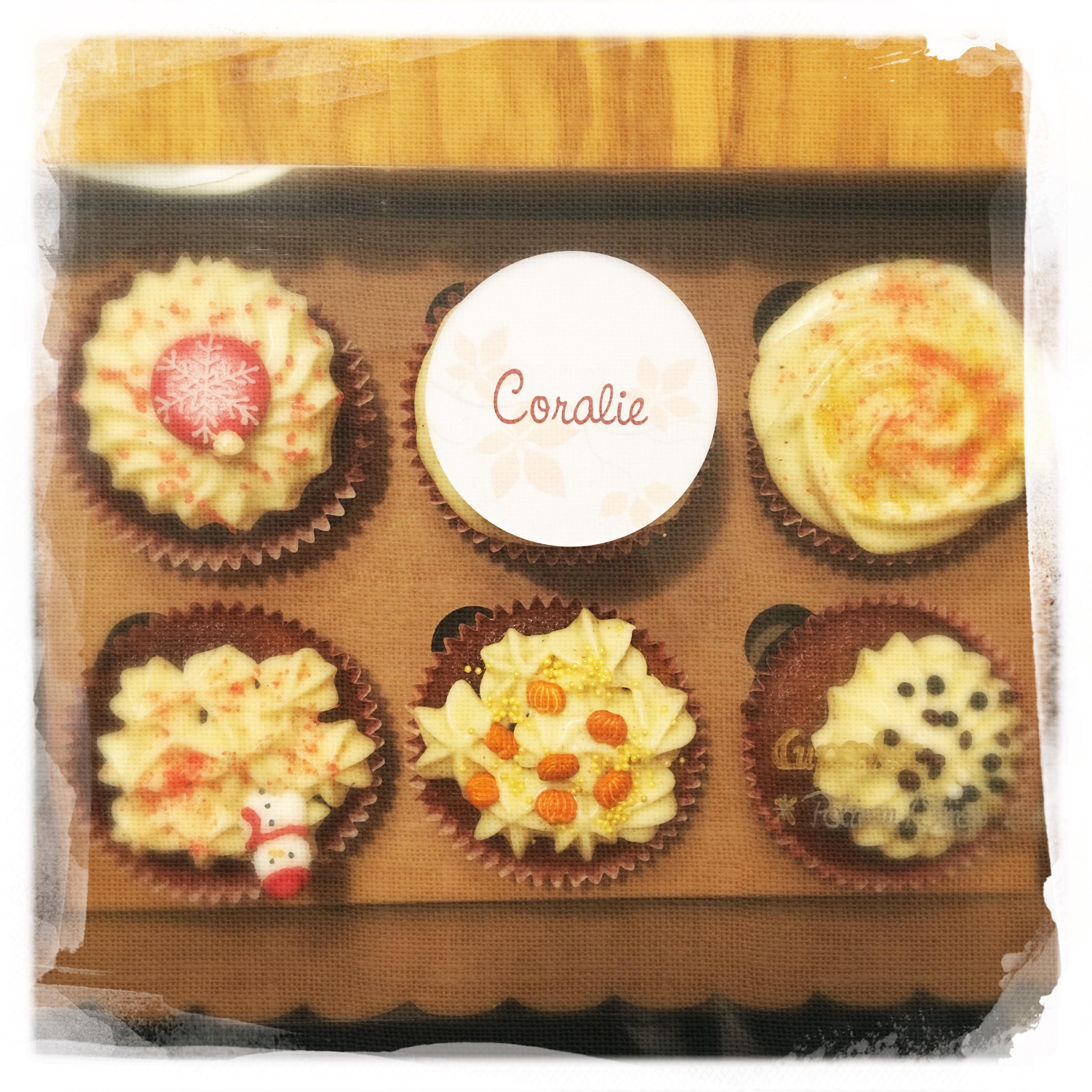Cours Cupcakes Potiron/... XVI