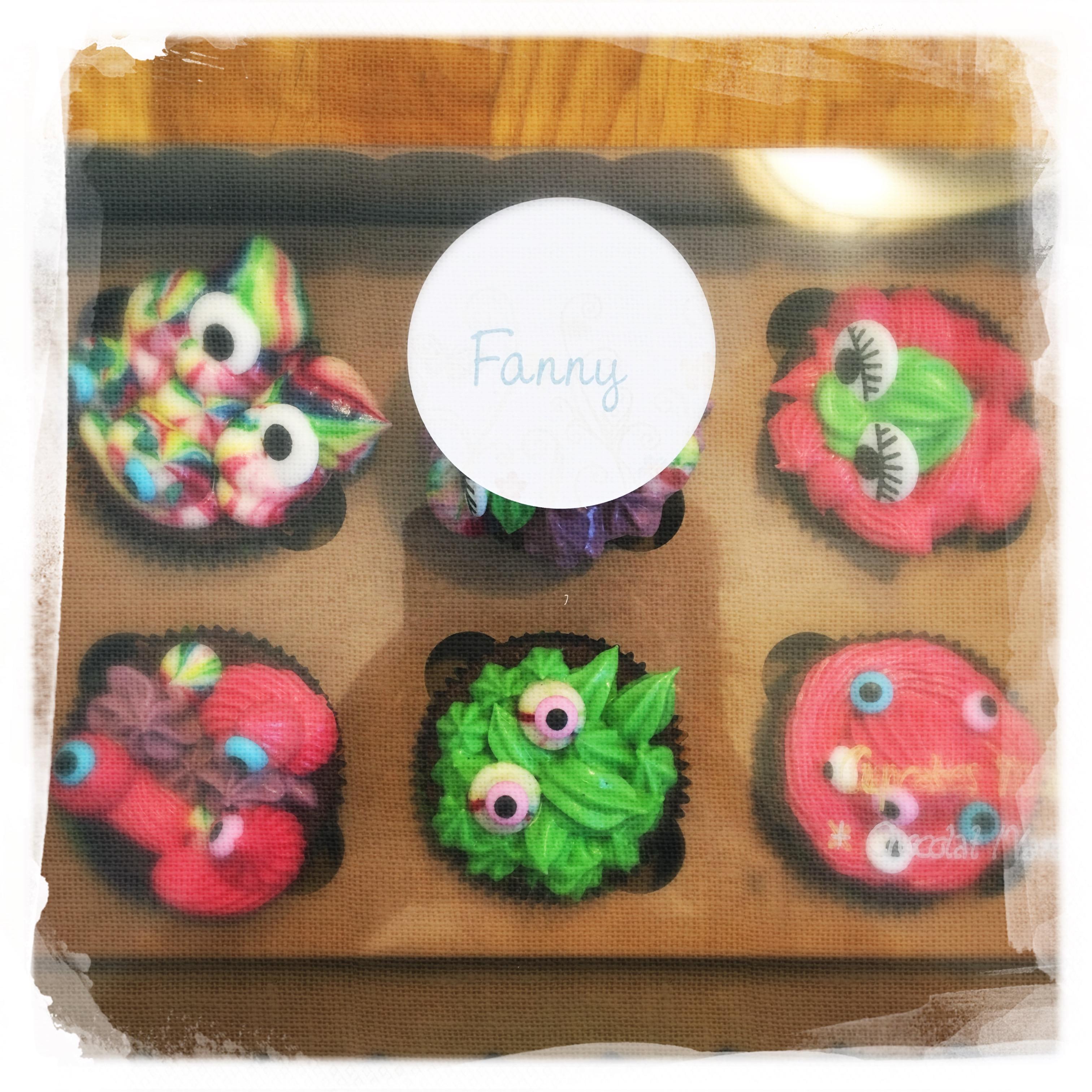 Cours privé Cupcakes Monstres XI