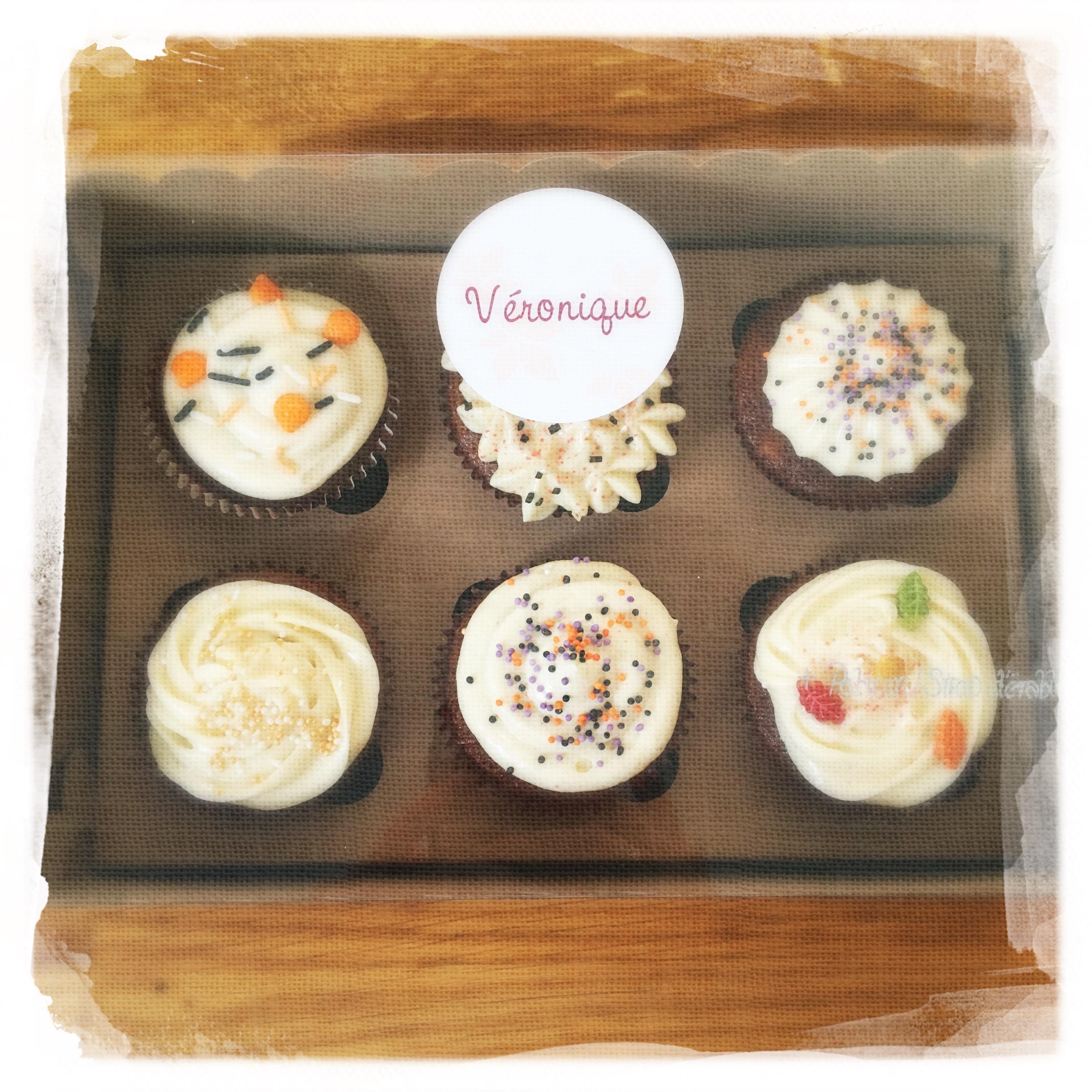 Cupcakes Potiron/Sirop d'érable XXVI