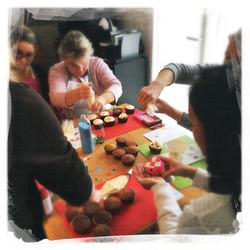 Cours Cupcakes Potiron/... VII
