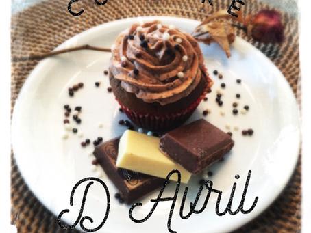 Cupcake du mois d'avril