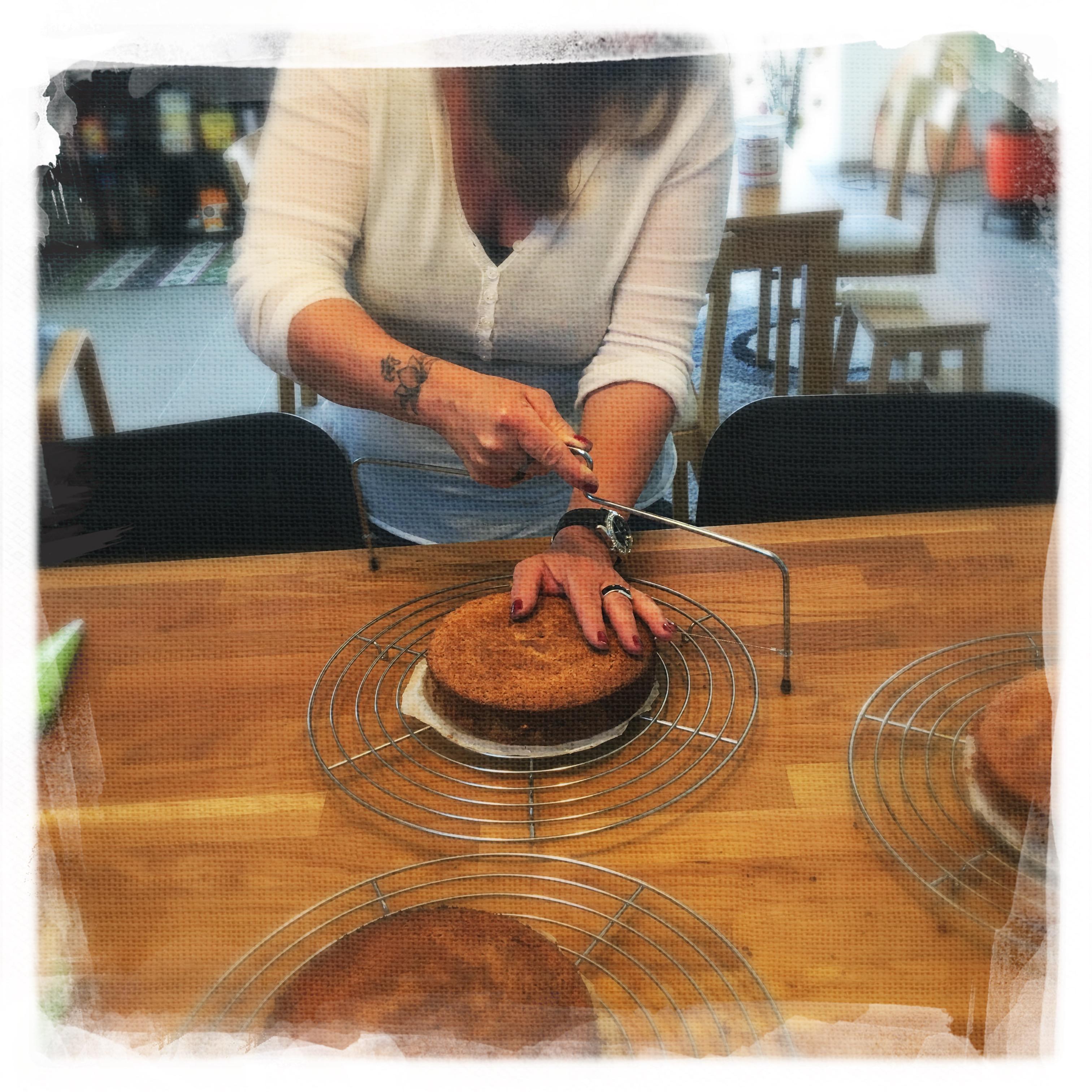 Cours Gâteau de Pâques I