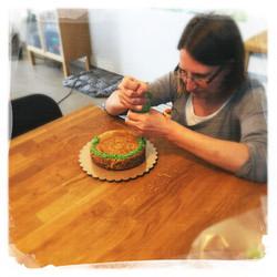 Cours Gâteau de Pâques III