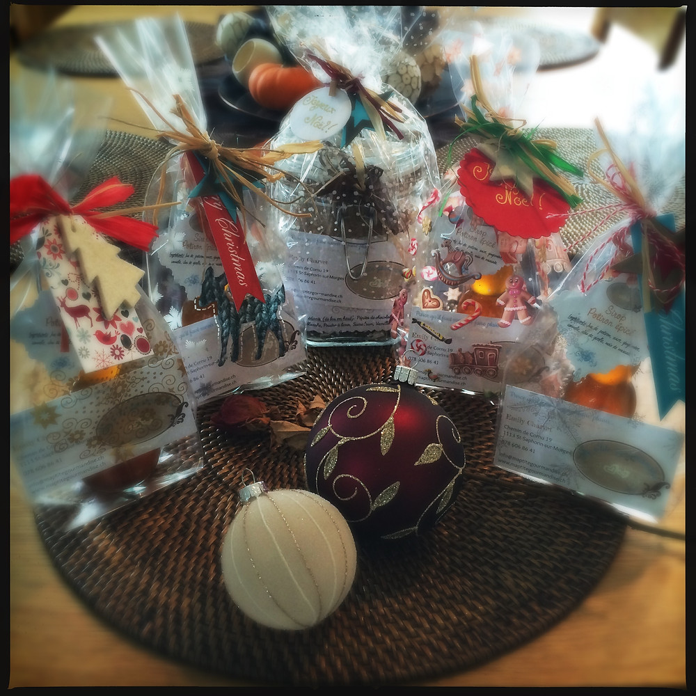 Emballage-cadeau Noël