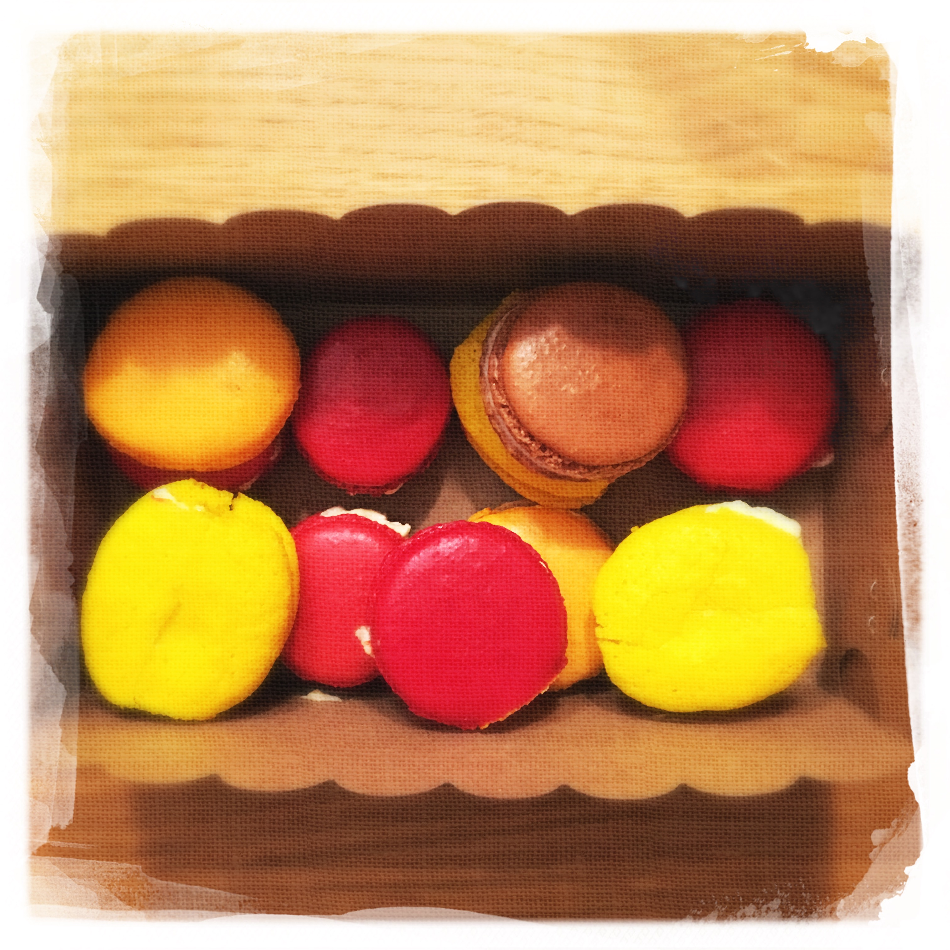 Cours Macarons salés 47
