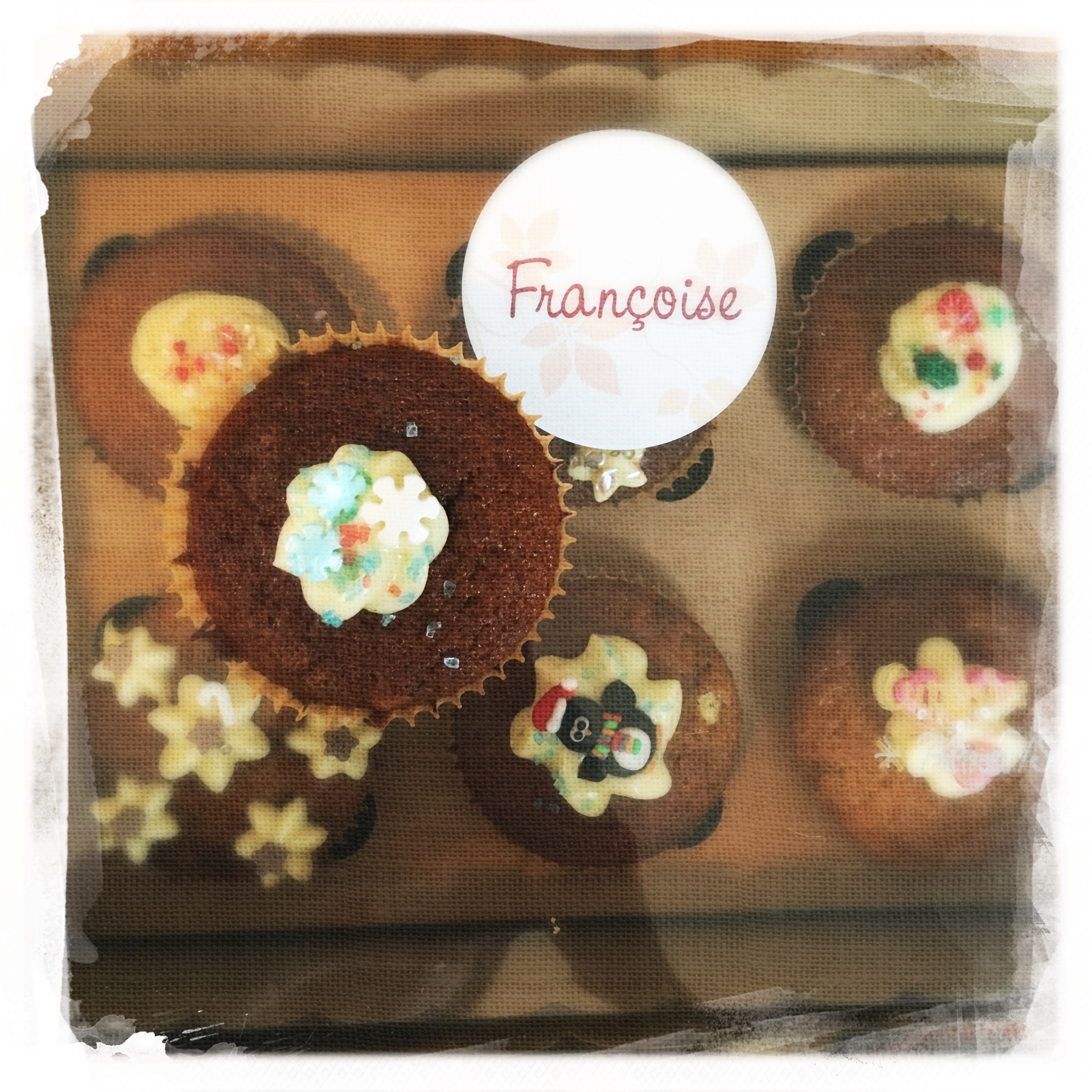 Cours Cupcakes Potiron/... XVIII