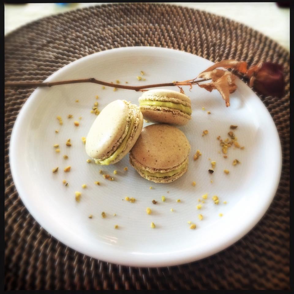 Macarons pistache I