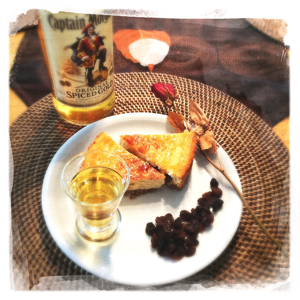 Cheesecake Raisins au rhum