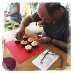 Cupcakes Potiron/Sirop d'érable XIII