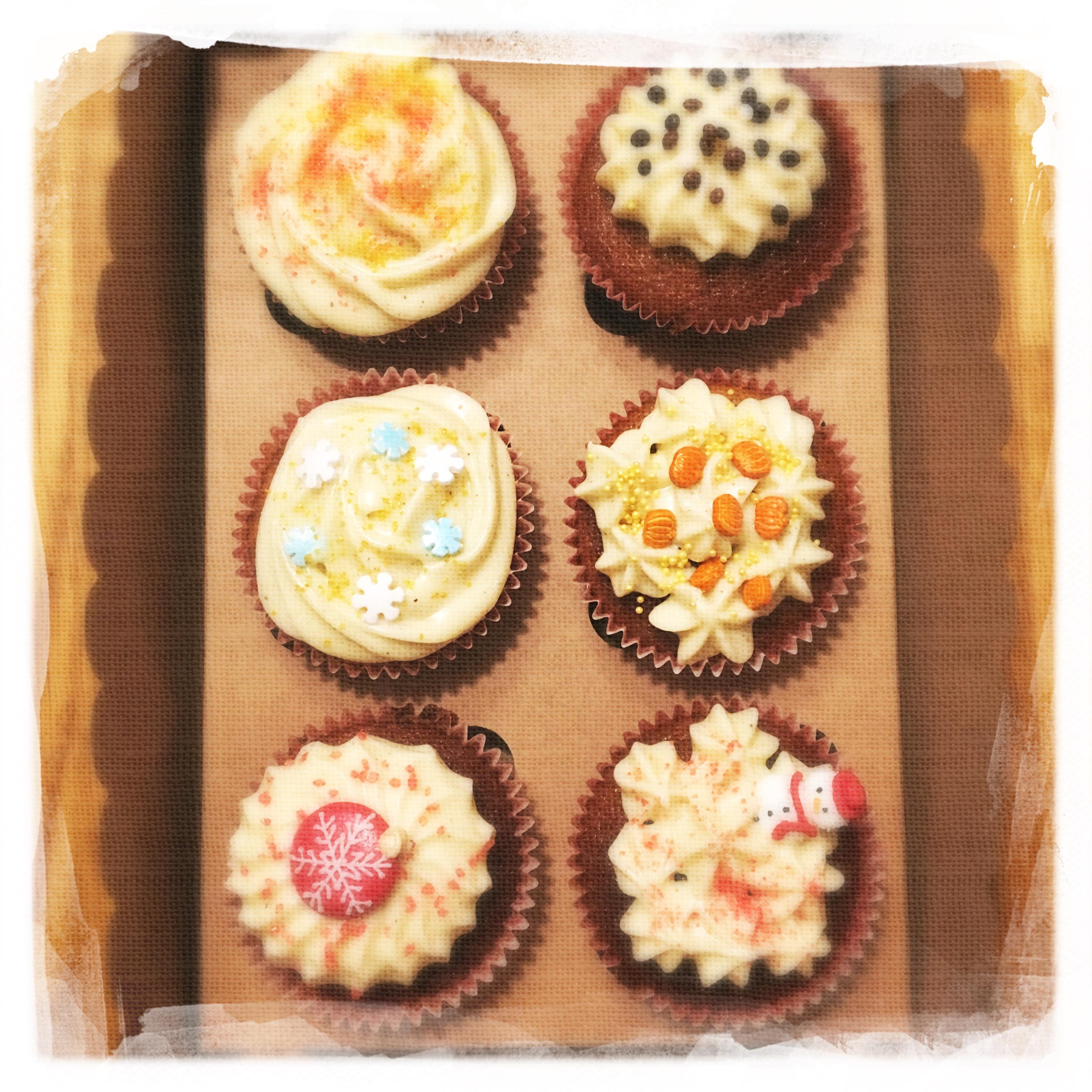 Cours Cupcakes Potiron/... XVII