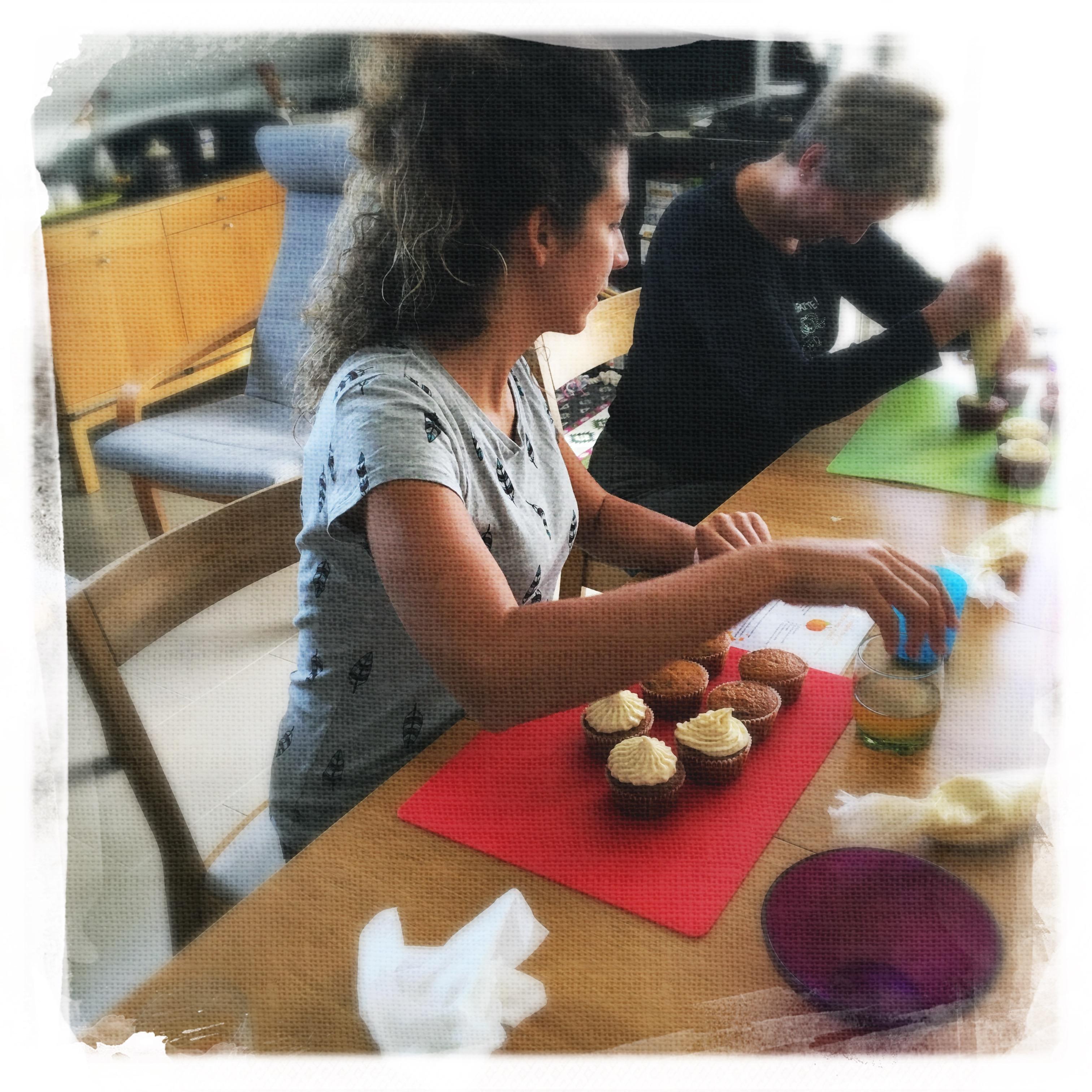 Cupcakes Potiron/Sirop d'érable XV