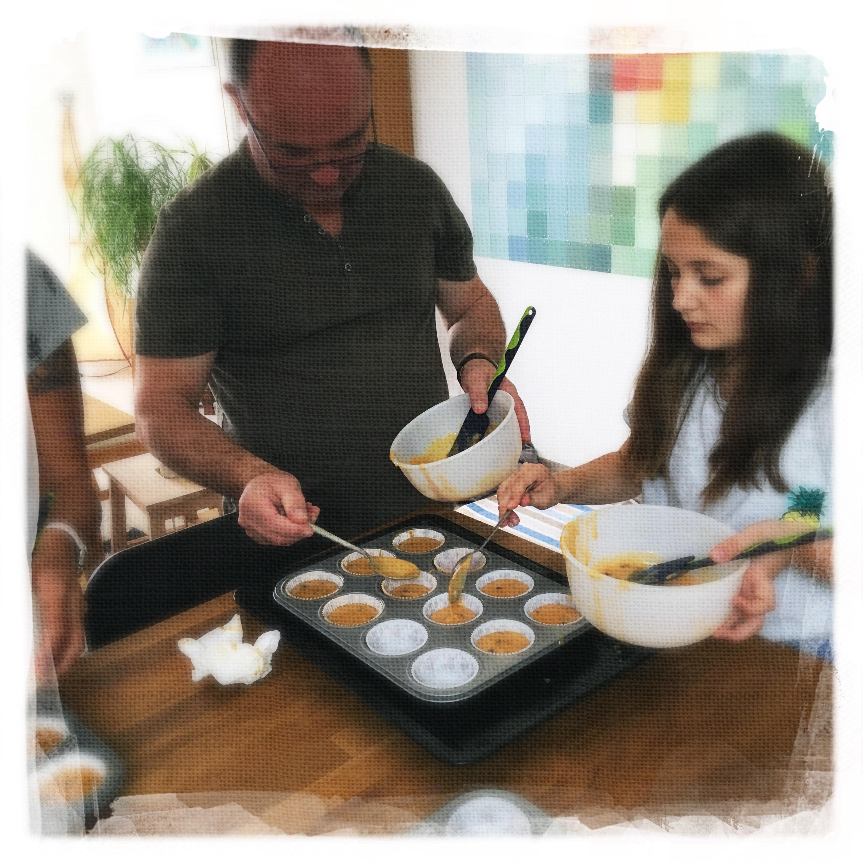 Cupcakes Potiron/Sirop d'érable I