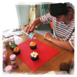 Cours privé Cupcakes Halloween XVI