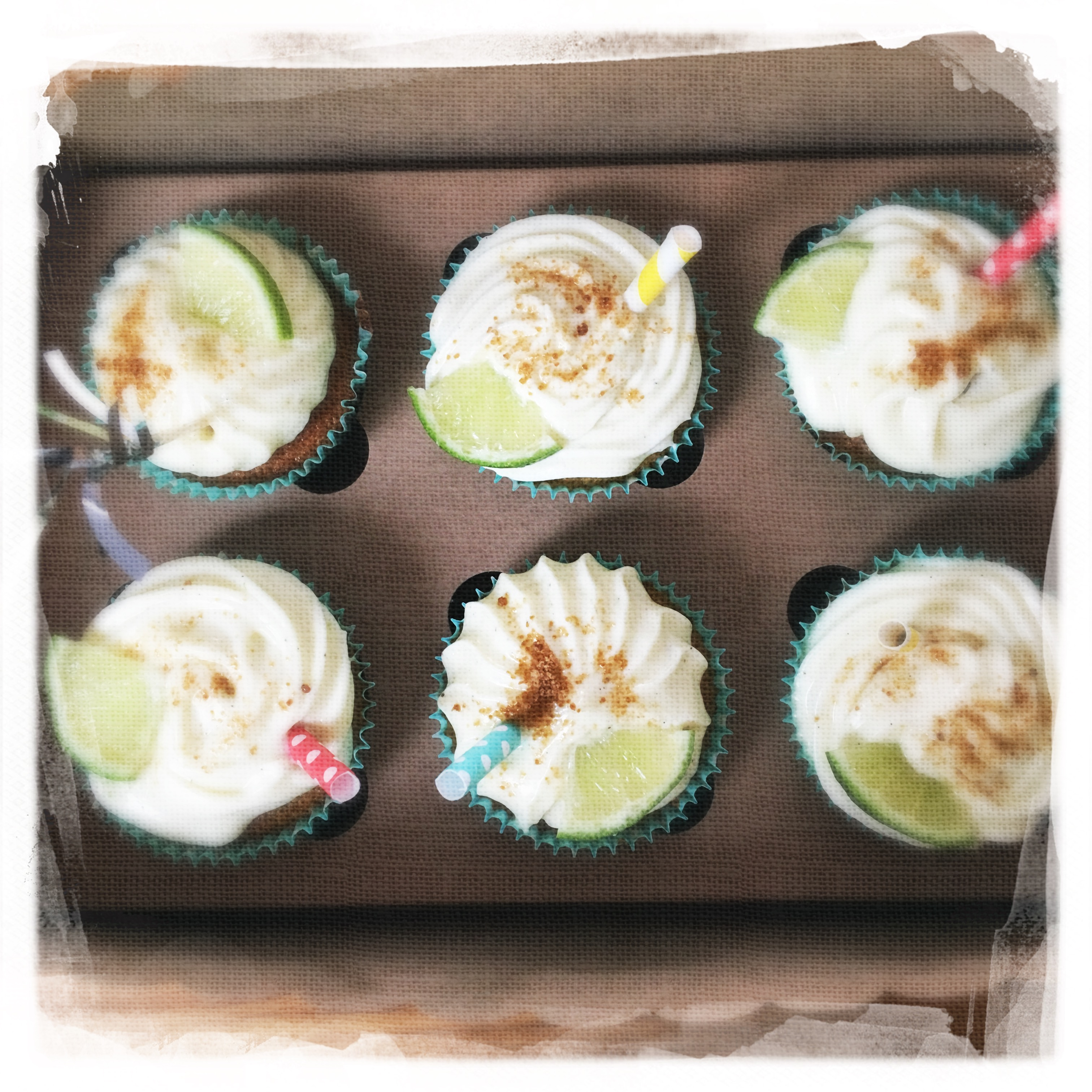 Cours Cupcakes Mojito VII