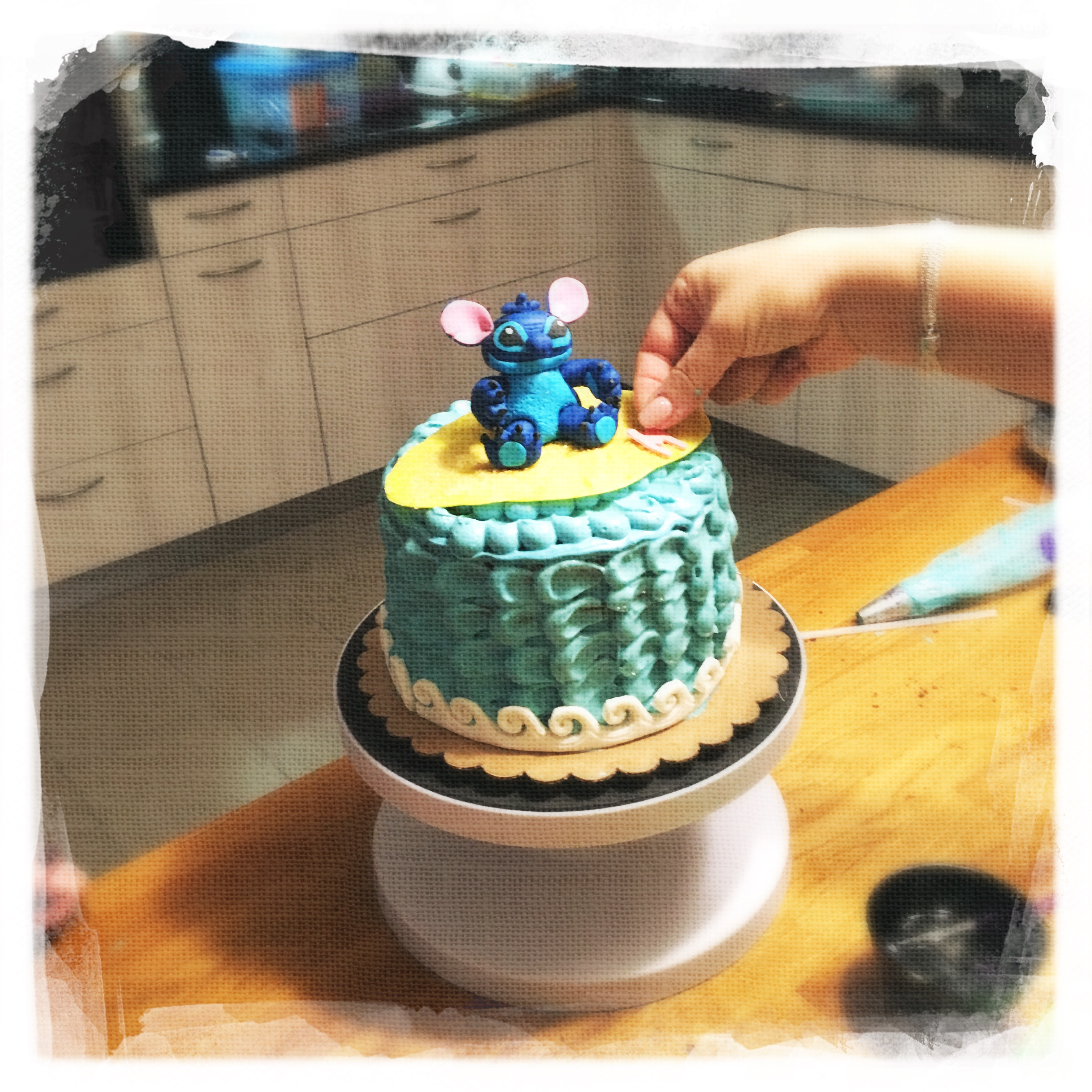 Cours privé Gâteau Stitch XIV