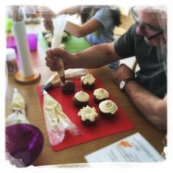 Cupcakes Potiron/Sirop d'érable IX