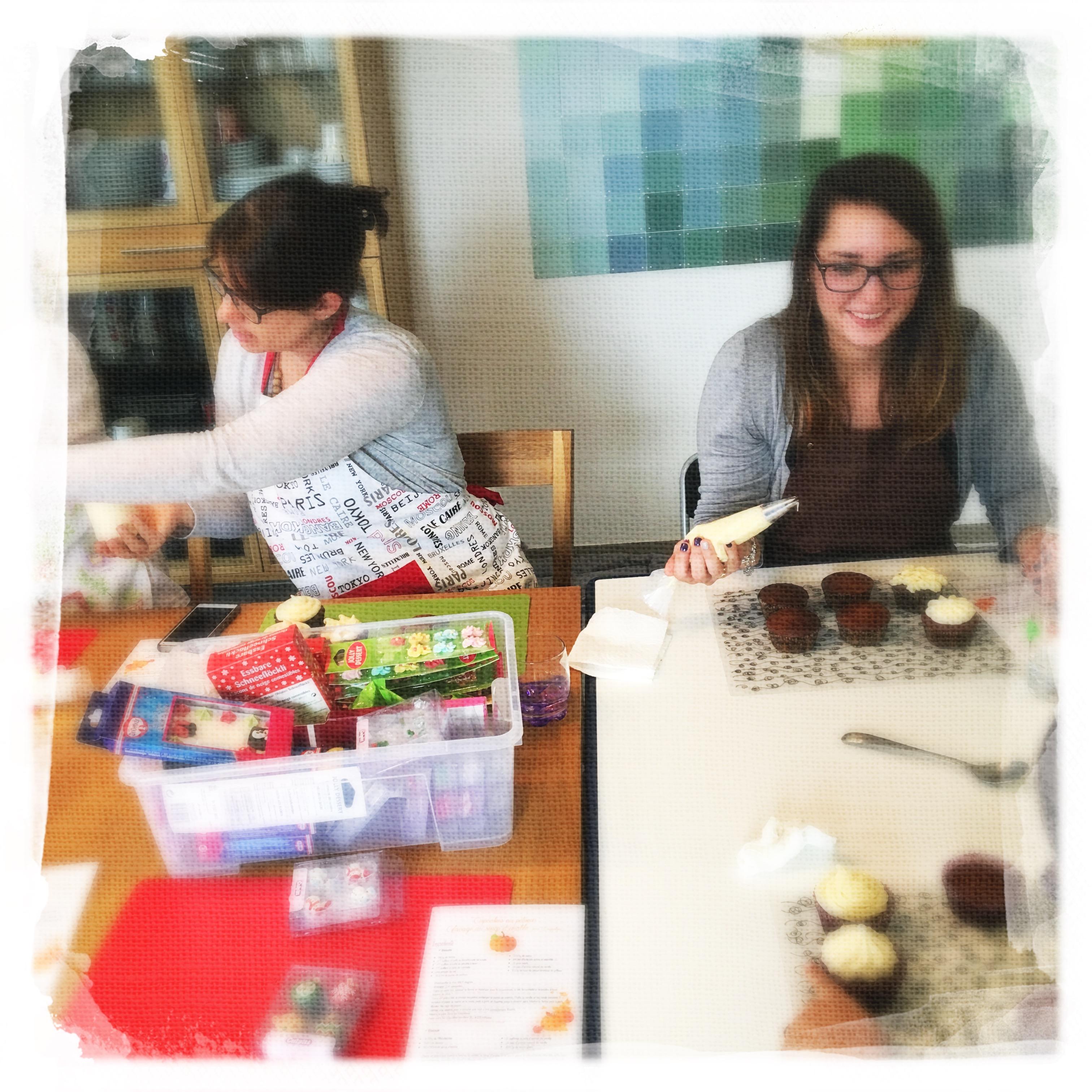 Cours Cupcakes Potiron/... V
